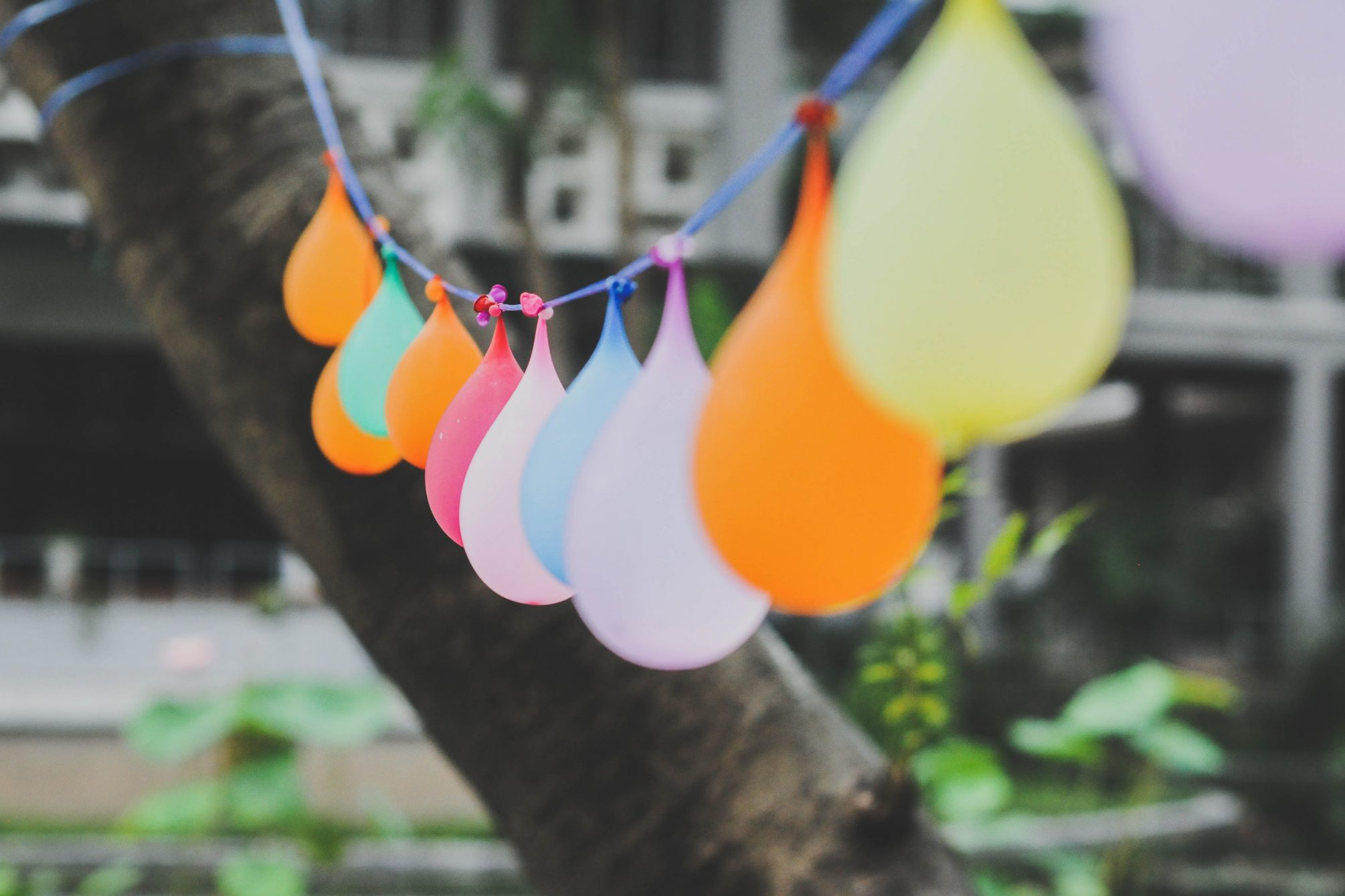 selective focus photography of balloons